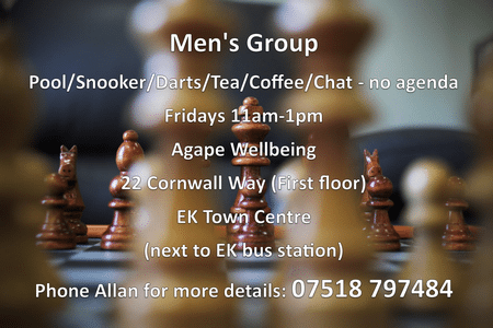 Mens Group Chess n Text